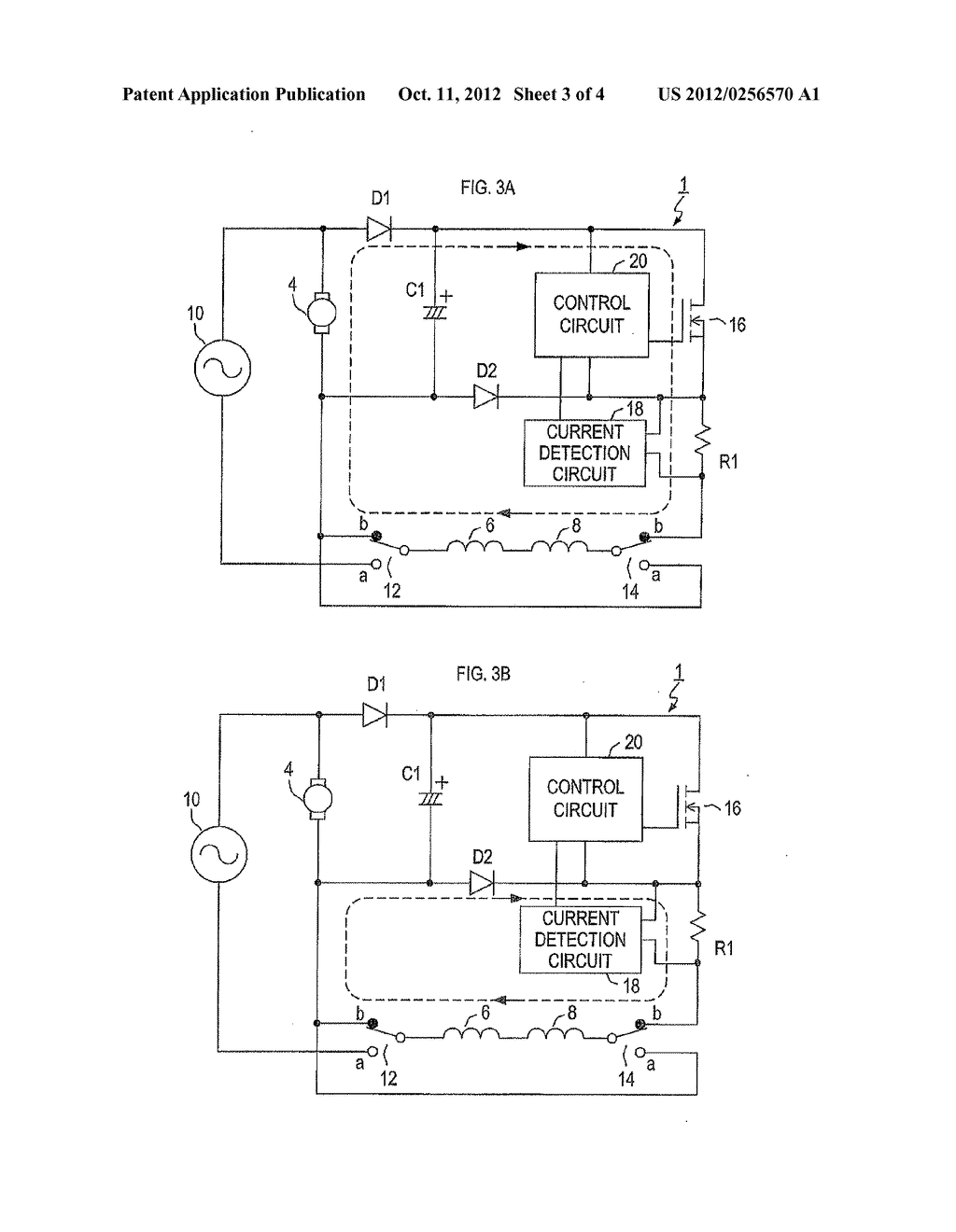 DRIVE DEVICE FOR SINGLE-PHASE SERIES COMMUTATOR MOTOR - diagram, schematic, and image 04