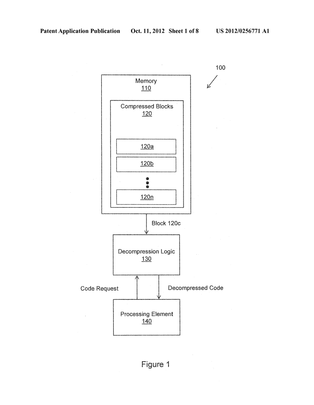 METHOD FOR COMPRESSION AND REAL-TIME DECOMPRESSION OF EXECUTABLE CODE - diagram, schematic, and image 02