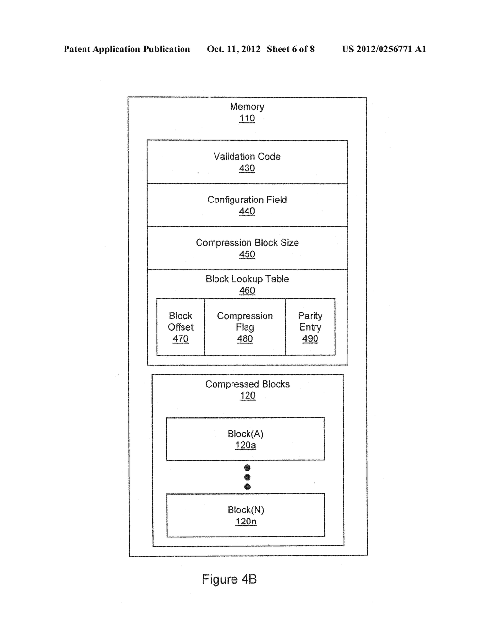 METHOD FOR COMPRESSION AND REAL-TIME DECOMPRESSION OF EXECUTABLE CODE - diagram, schematic, and image 07