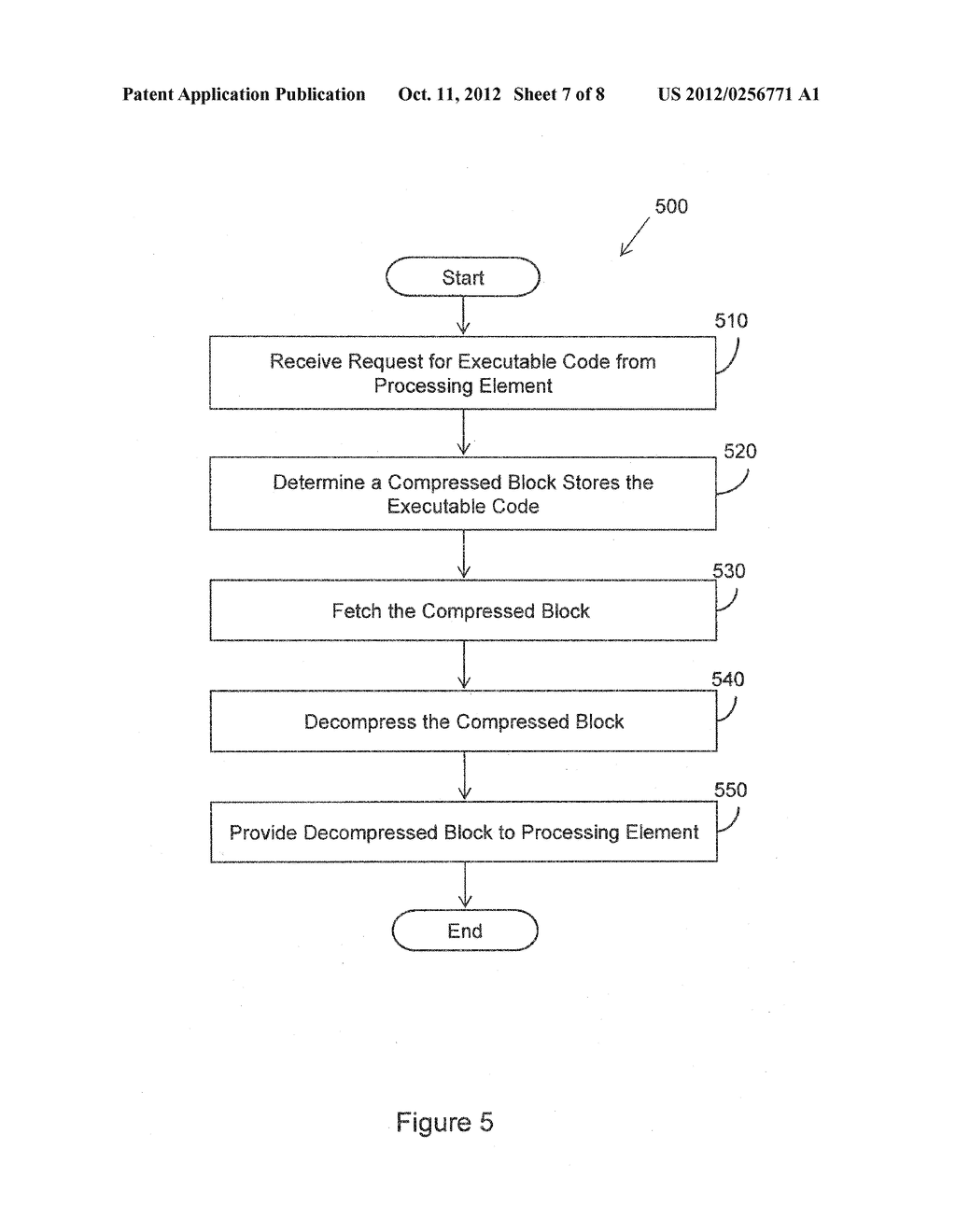 METHOD FOR COMPRESSION AND REAL-TIME DECOMPRESSION OF EXECUTABLE CODE - diagram, schematic, and image 08