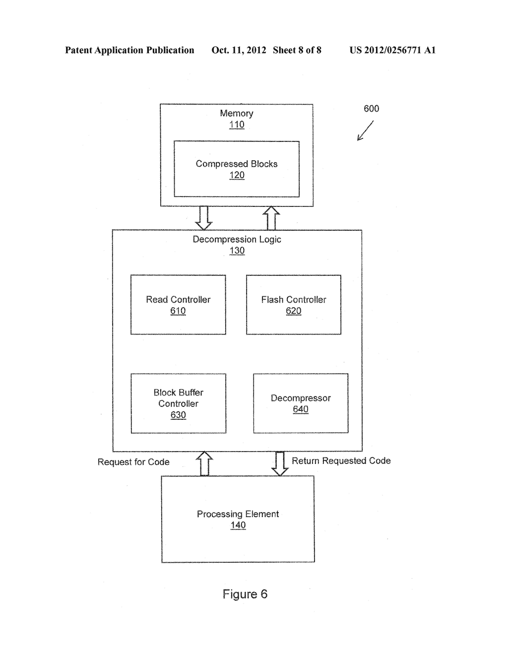 METHOD FOR COMPRESSION AND REAL-TIME DECOMPRESSION OF EXECUTABLE CODE - diagram, schematic, and image 09