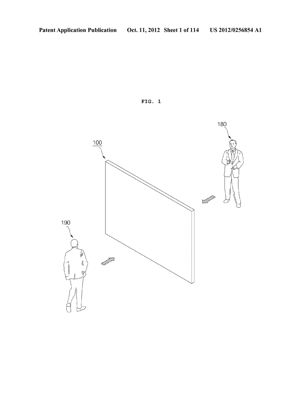 TRANSPARENT DISPLAY APPARATUS AND METHOD FOR OPERATING THE SAME - diagram, schematic, and image 02