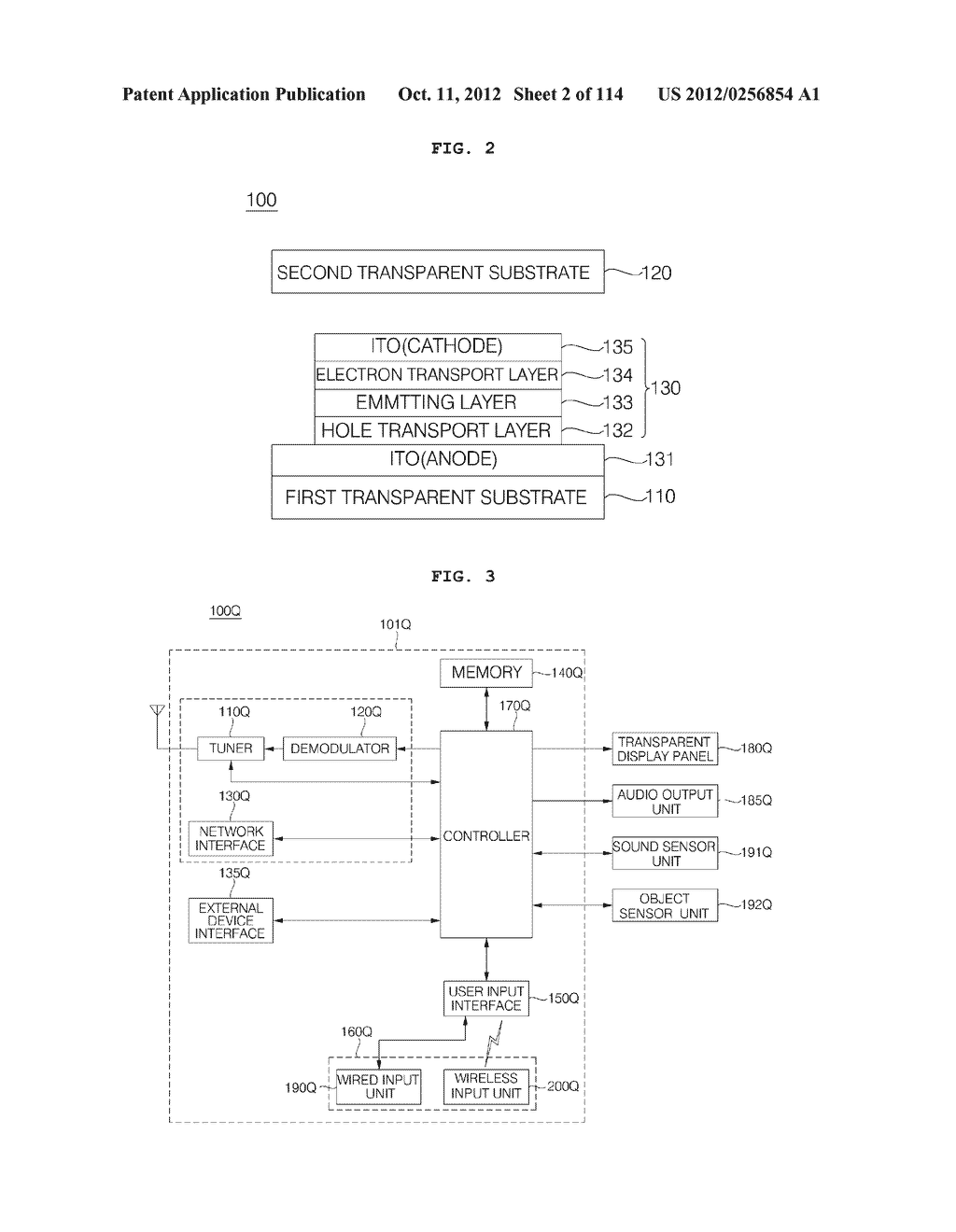 TRANSPARENT DISPLAY APPARATUS AND METHOD FOR OPERATING THE SAME - diagram, schematic, and image 03