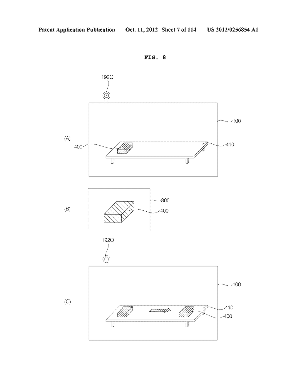 TRANSPARENT DISPLAY APPARATUS AND METHOD FOR OPERATING THE SAME - diagram, schematic, and image 08