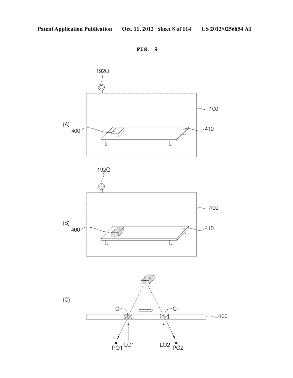 TRANSPARENT DISPLAY APPARATUS AND METHOD FOR OPERATING THE SAME - diagram, schematic, and image 09