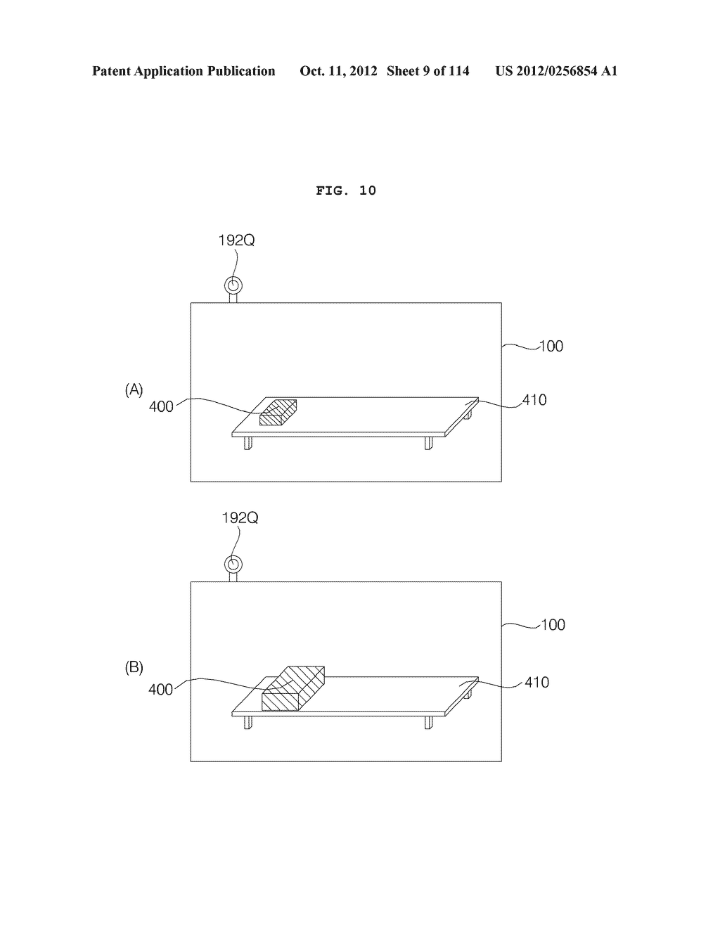 TRANSPARENT DISPLAY APPARATUS AND METHOD FOR OPERATING THE SAME - diagram, schematic, and image 10