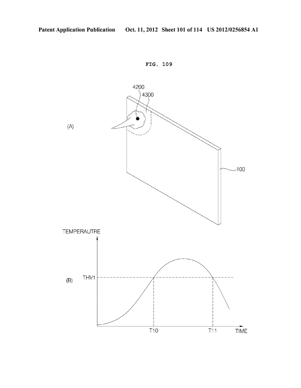 TRANSPARENT DISPLAY APPARATUS AND METHOD FOR OPERATING THE SAME - diagram, schematic, and image 102