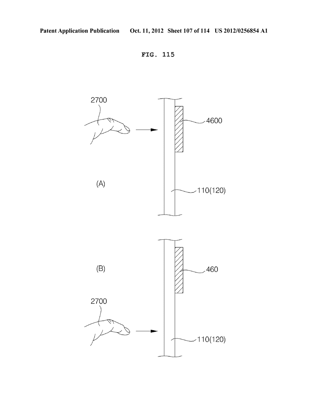 TRANSPARENT DISPLAY APPARATUS AND METHOD FOR OPERATING THE SAME - diagram, schematic, and image 108