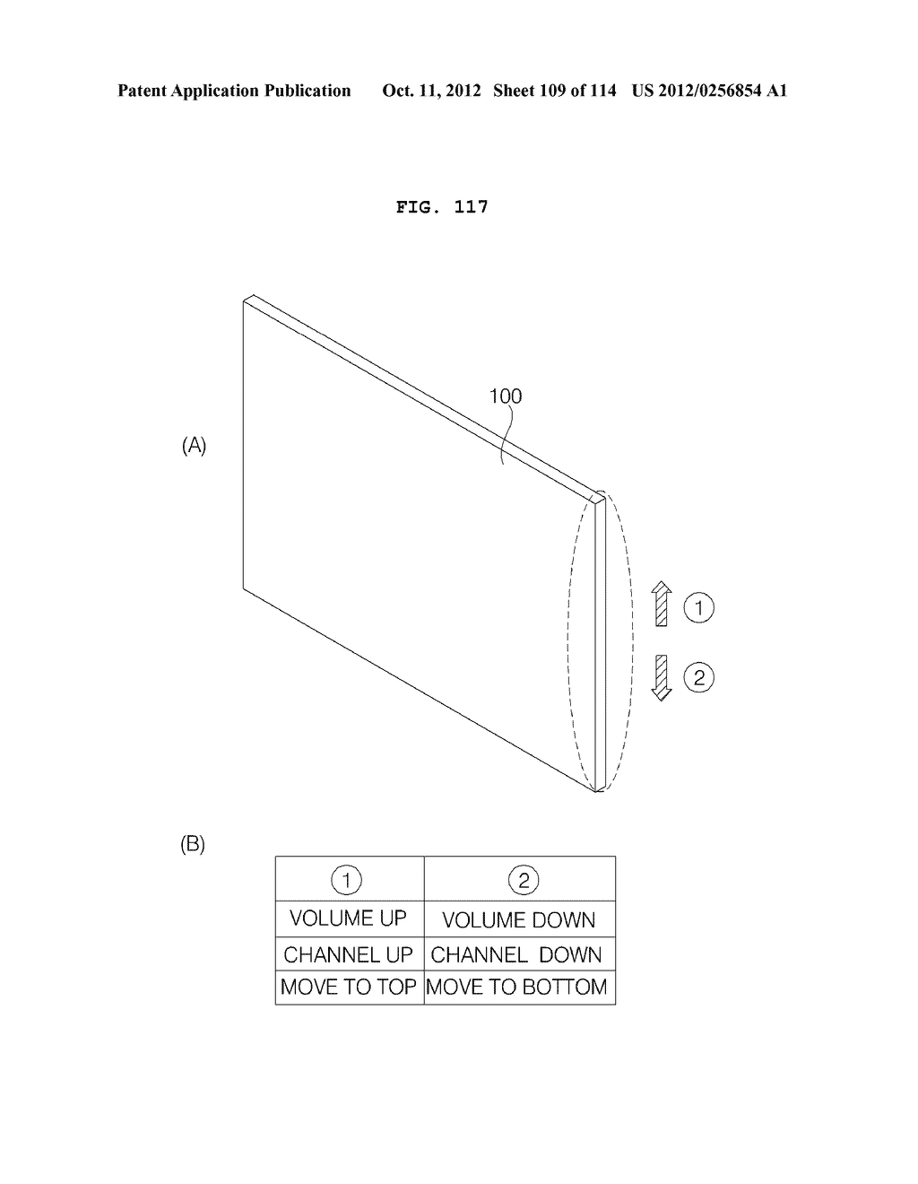 TRANSPARENT DISPLAY APPARATUS AND METHOD FOR OPERATING THE SAME - diagram, schematic, and image 110