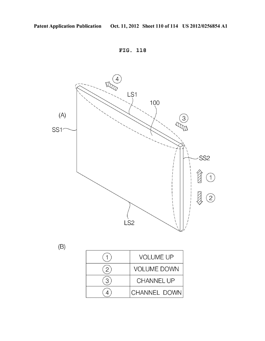 TRANSPARENT DISPLAY APPARATUS AND METHOD FOR OPERATING THE SAME - diagram, schematic, and image 111