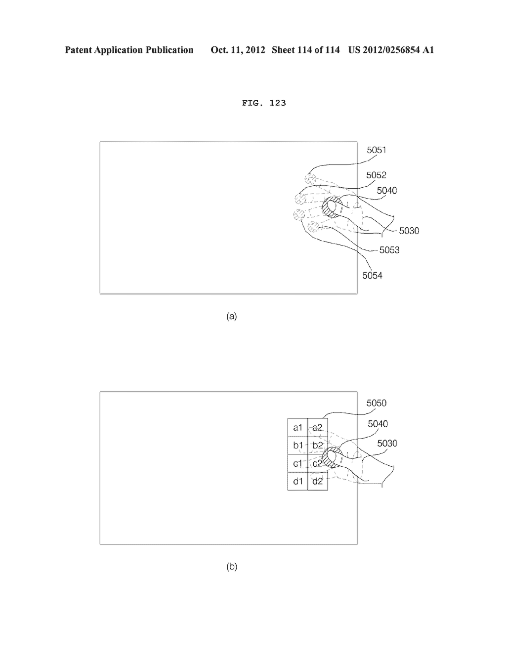TRANSPARENT DISPLAY APPARATUS AND METHOD FOR OPERATING THE SAME - diagram, schematic, and image 115