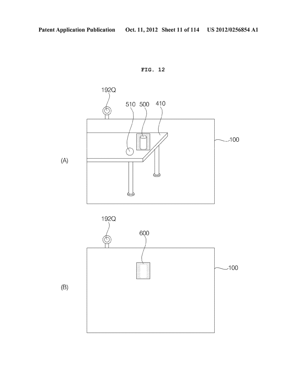 TRANSPARENT DISPLAY APPARATUS AND METHOD FOR OPERATING THE SAME - diagram, schematic, and image 12