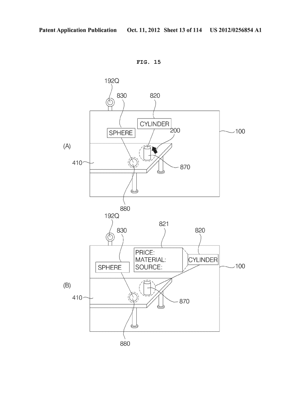 TRANSPARENT DISPLAY APPARATUS AND METHOD FOR OPERATING THE SAME - diagram, schematic, and image 14