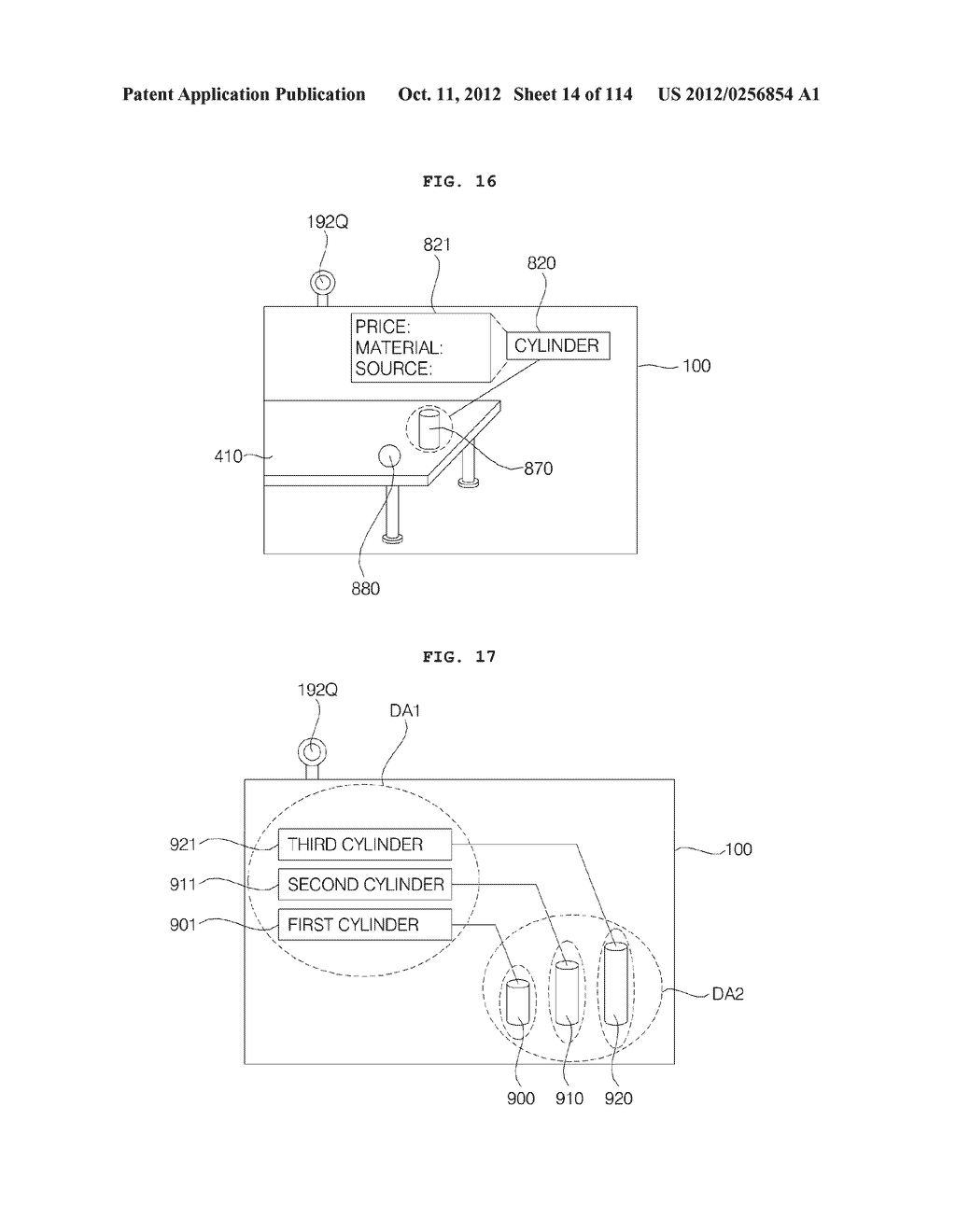 TRANSPARENT DISPLAY APPARATUS AND METHOD FOR OPERATING THE SAME - diagram, schematic, and image 15