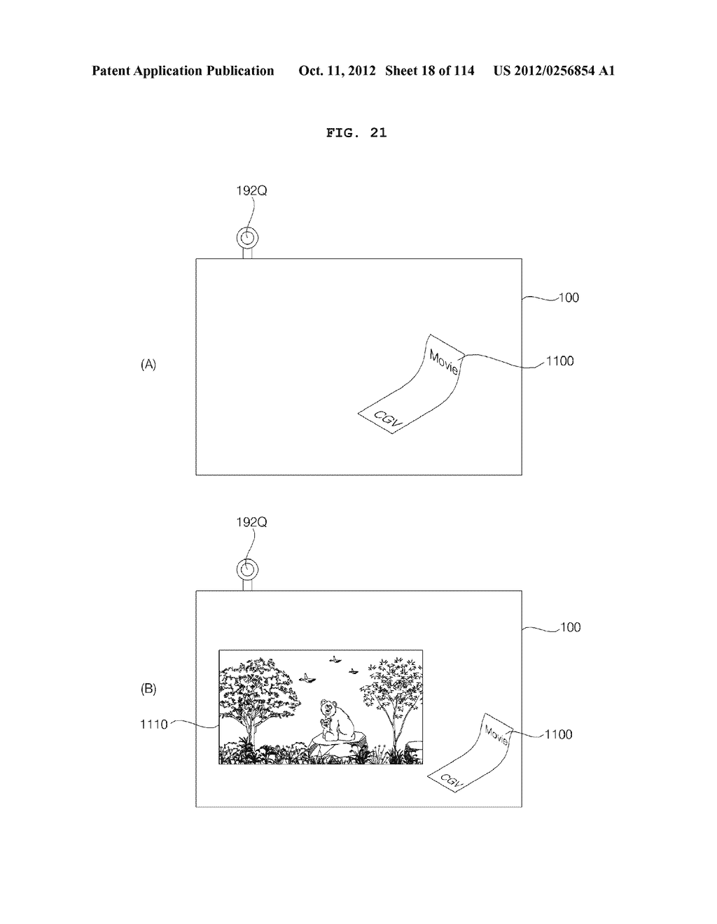 TRANSPARENT DISPLAY APPARATUS AND METHOD FOR OPERATING THE SAME - diagram, schematic, and image 19