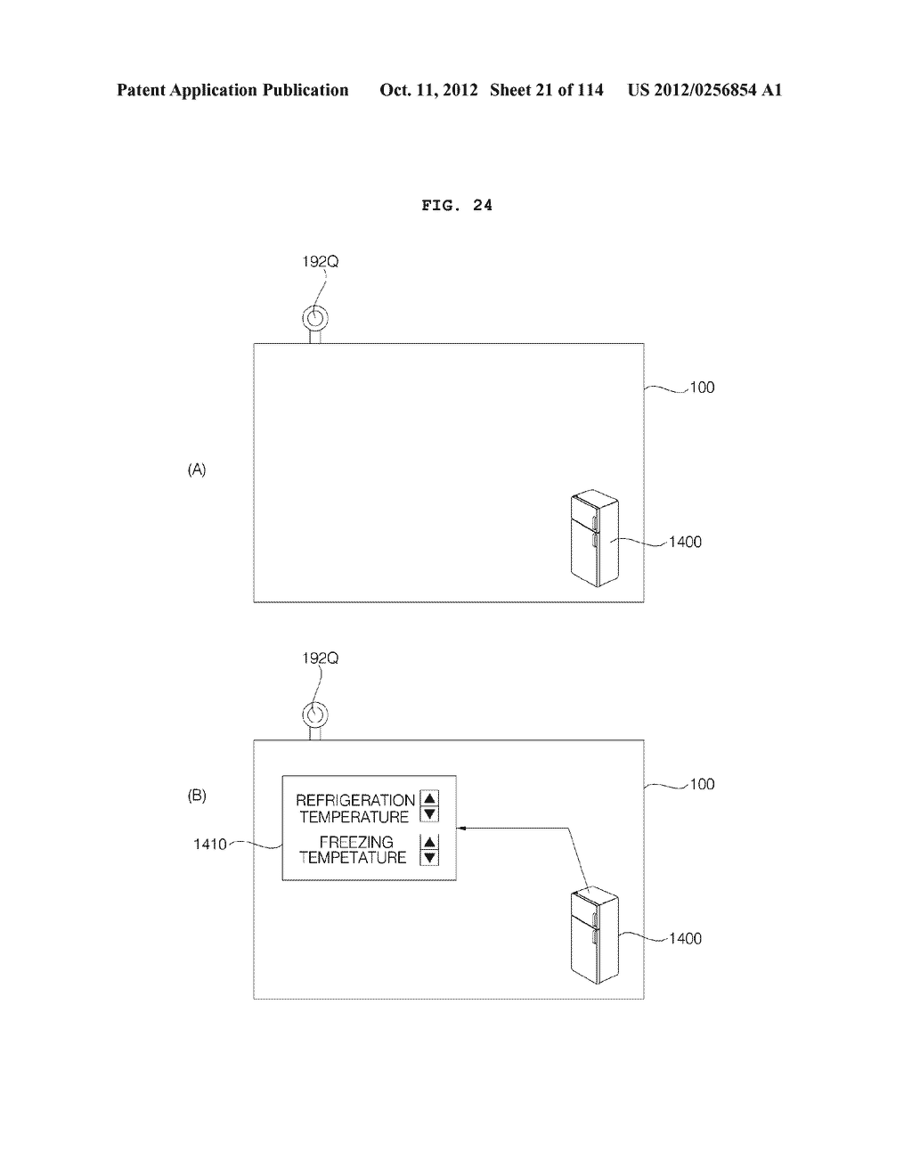 TRANSPARENT DISPLAY APPARATUS AND METHOD FOR OPERATING THE SAME - diagram, schematic, and image 22
