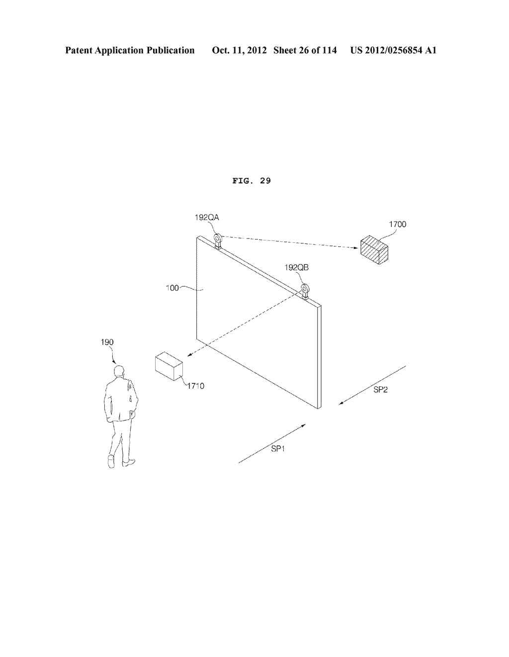 TRANSPARENT DISPLAY APPARATUS AND METHOD FOR OPERATING THE SAME - diagram, schematic, and image 27