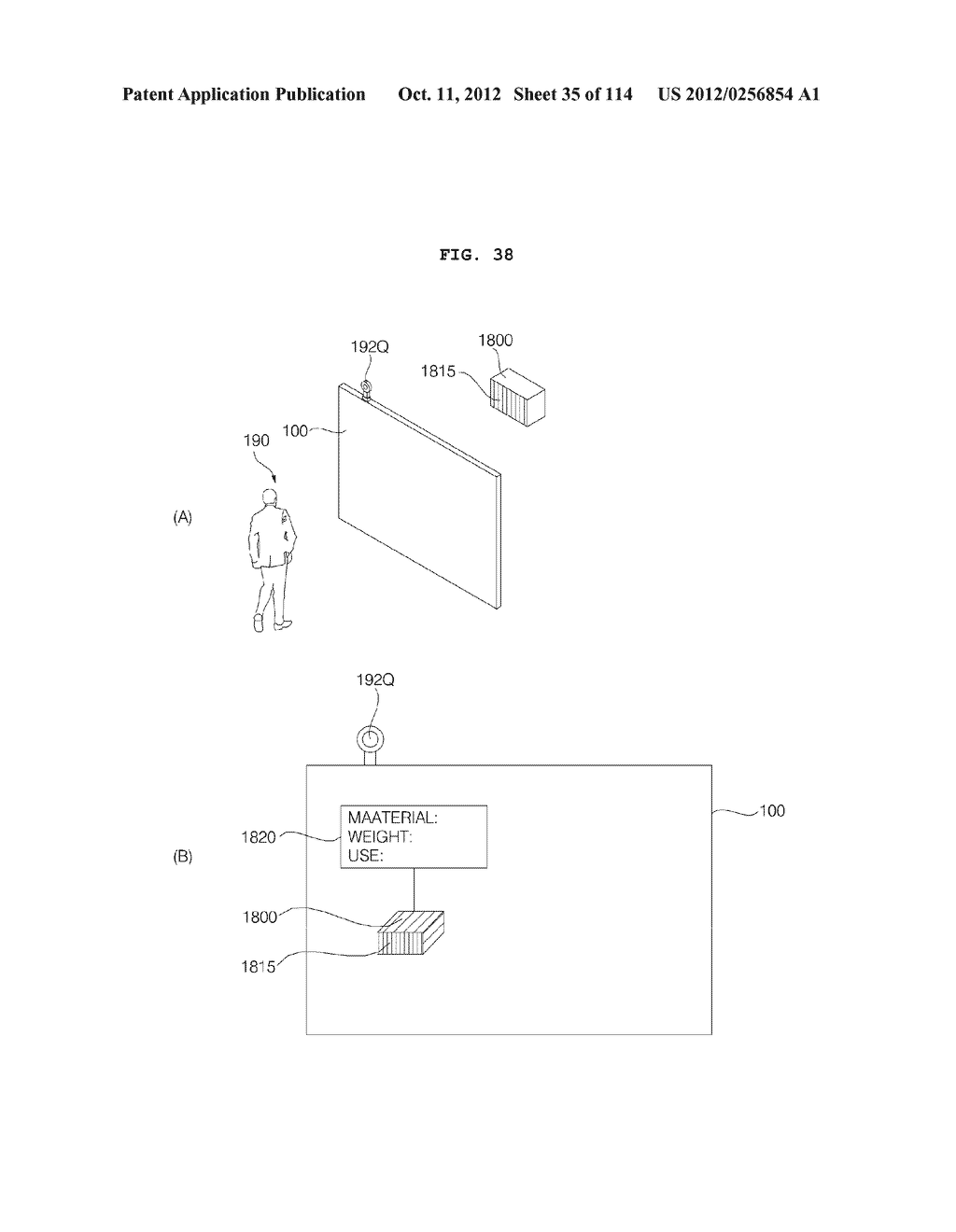 TRANSPARENT DISPLAY APPARATUS AND METHOD FOR OPERATING THE SAME - diagram, schematic, and image 36
