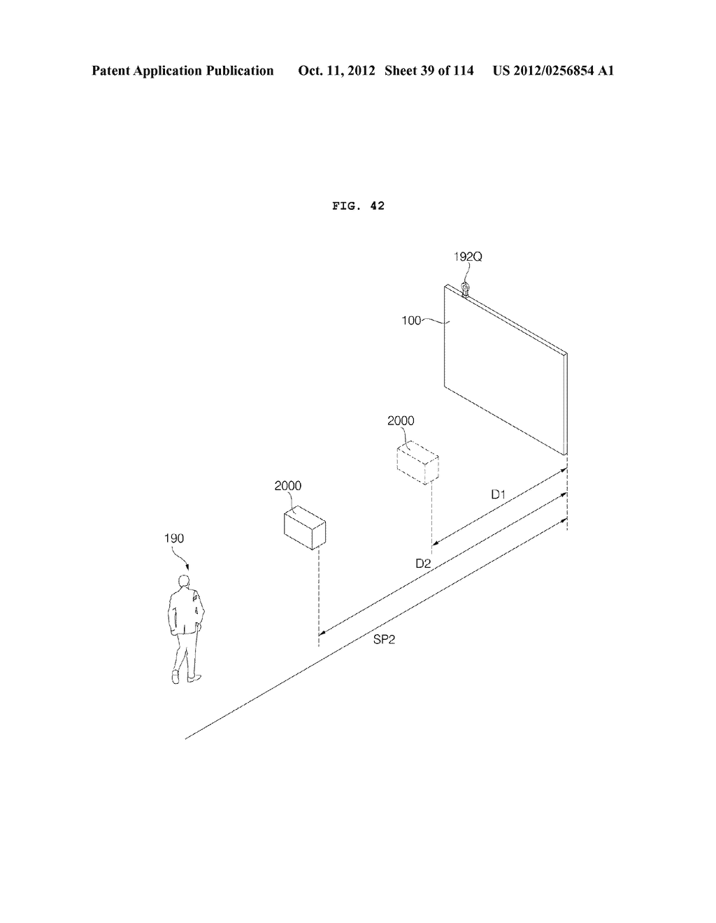 TRANSPARENT DISPLAY APPARATUS AND METHOD FOR OPERATING THE SAME - diagram, schematic, and image 40