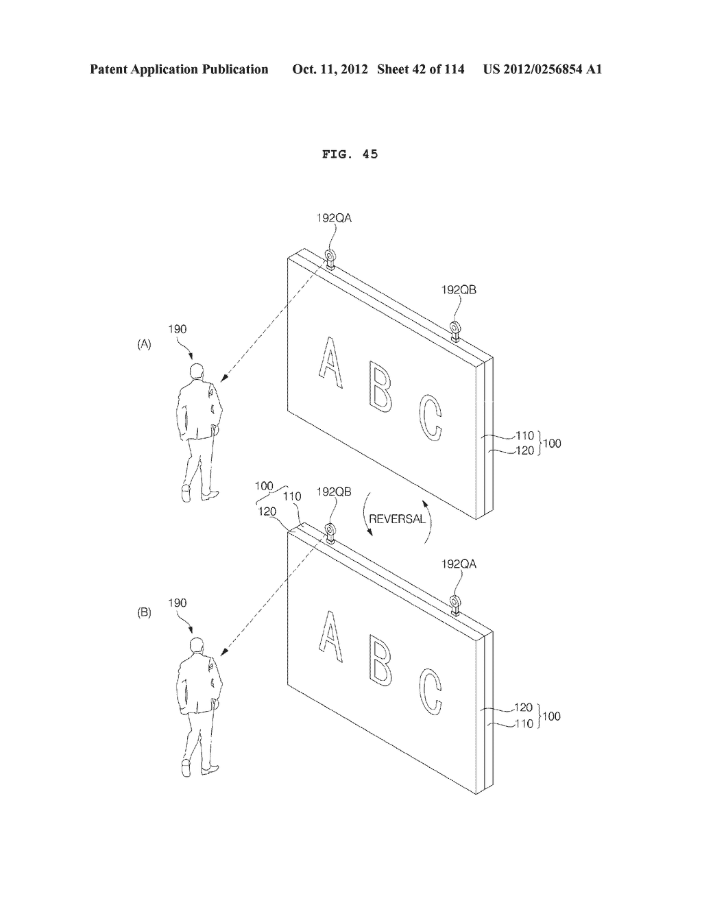 TRANSPARENT DISPLAY APPARATUS AND METHOD FOR OPERATING THE SAME - diagram, schematic, and image 43