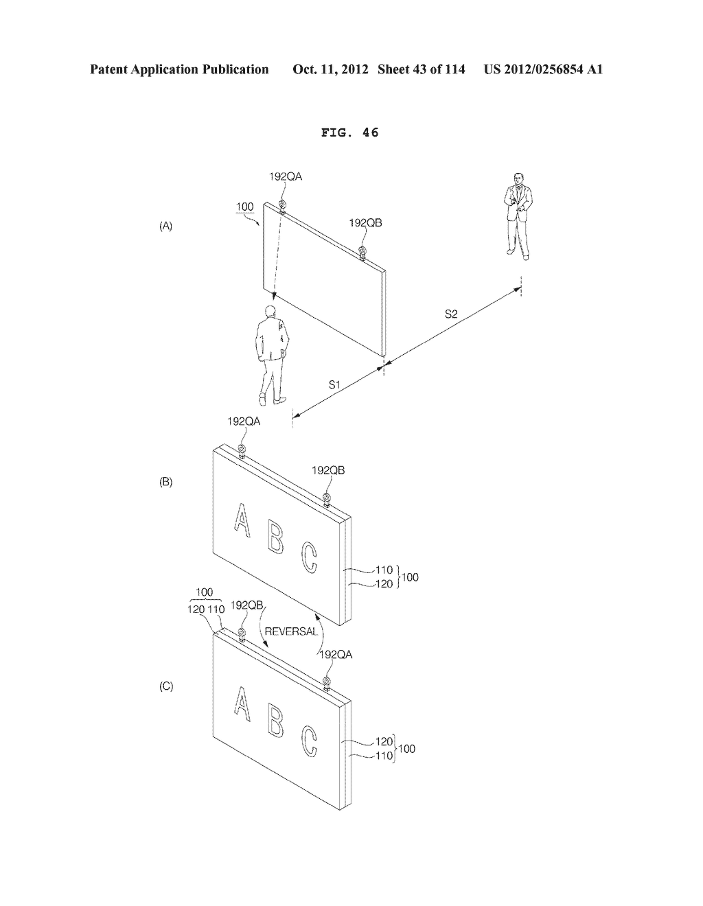 TRANSPARENT DISPLAY APPARATUS AND METHOD FOR OPERATING THE SAME - diagram, schematic, and image 44