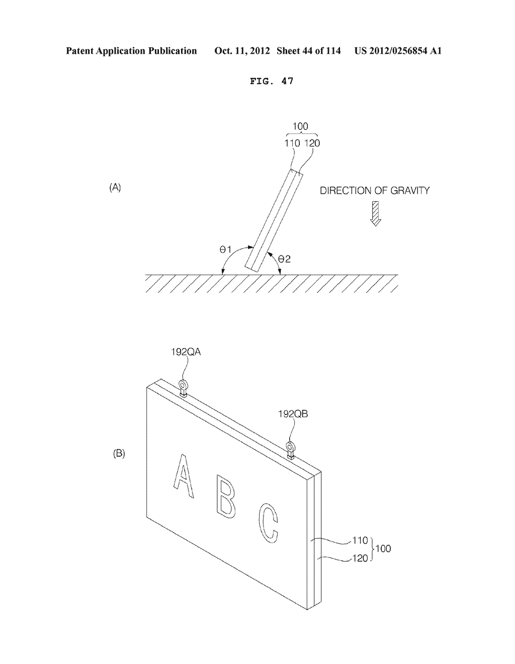 TRANSPARENT DISPLAY APPARATUS AND METHOD FOR OPERATING THE SAME - diagram, schematic, and image 45