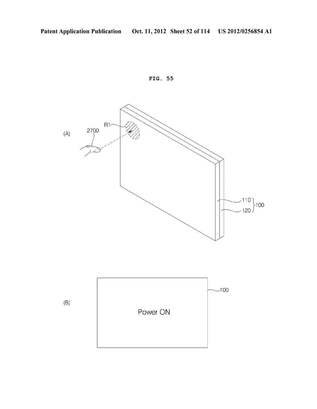 TRANSPARENT DISPLAY APPARATUS AND METHOD FOR OPERATING THE SAME - diagram, schematic, and image 53
