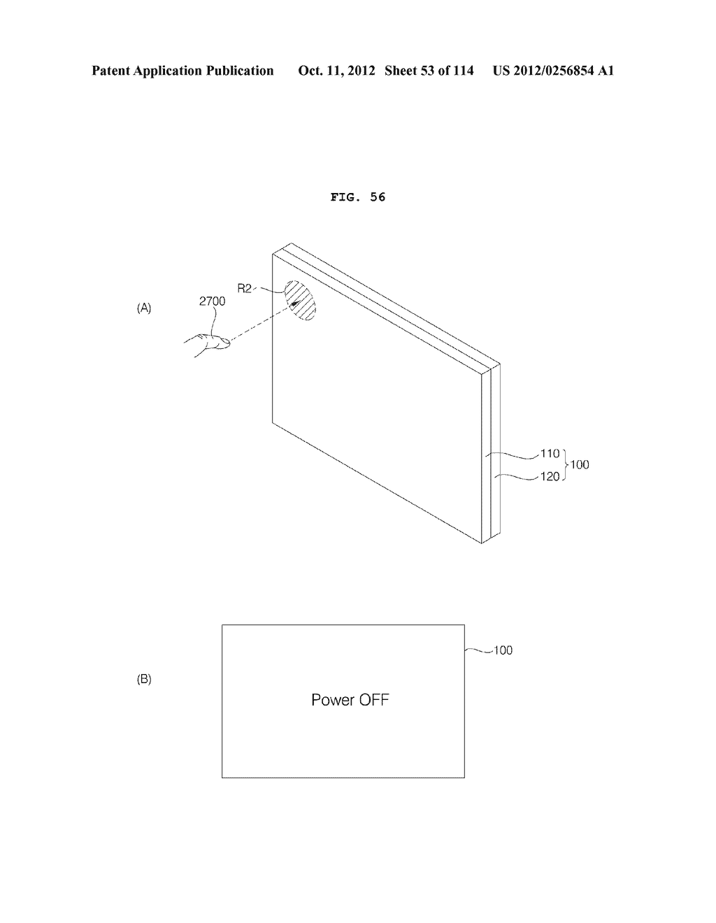 TRANSPARENT DISPLAY APPARATUS AND METHOD FOR OPERATING THE SAME - diagram, schematic, and image 54