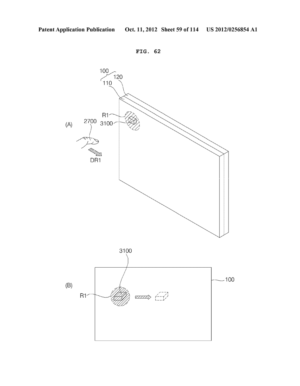 TRANSPARENT DISPLAY APPARATUS AND METHOD FOR OPERATING THE SAME - diagram, schematic, and image 60