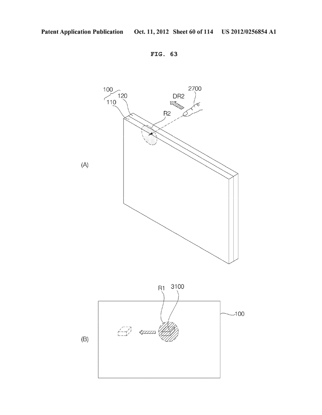 TRANSPARENT DISPLAY APPARATUS AND METHOD FOR OPERATING THE SAME - diagram, schematic, and image 61