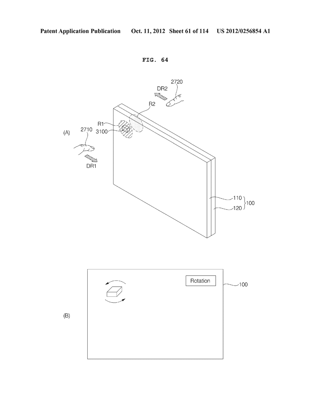 TRANSPARENT DISPLAY APPARATUS AND METHOD FOR OPERATING THE SAME - diagram, schematic, and image 62