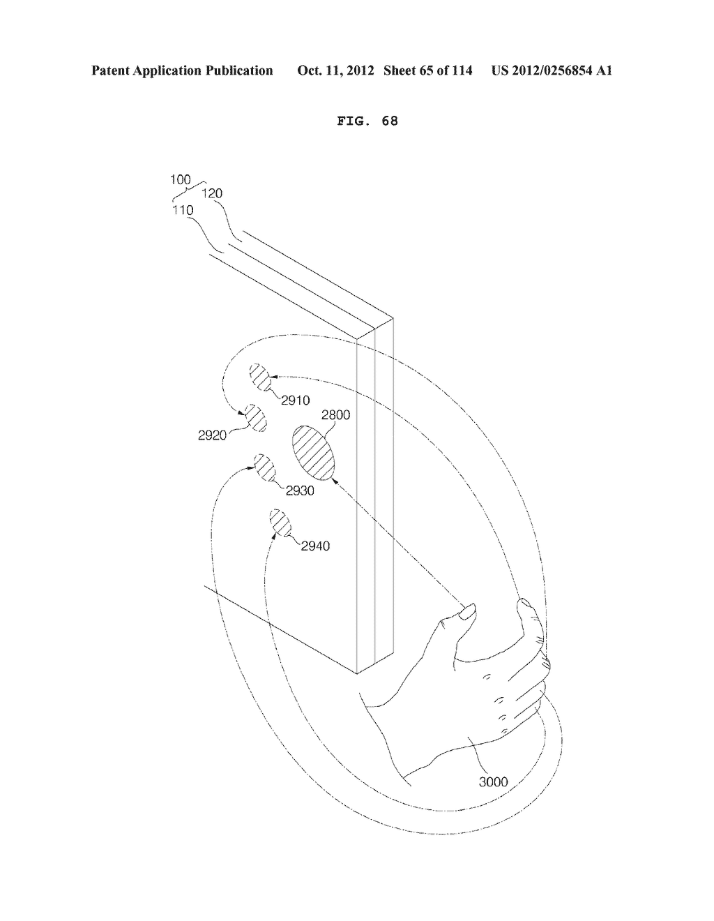 TRANSPARENT DISPLAY APPARATUS AND METHOD FOR OPERATING THE SAME - diagram, schematic, and image 66