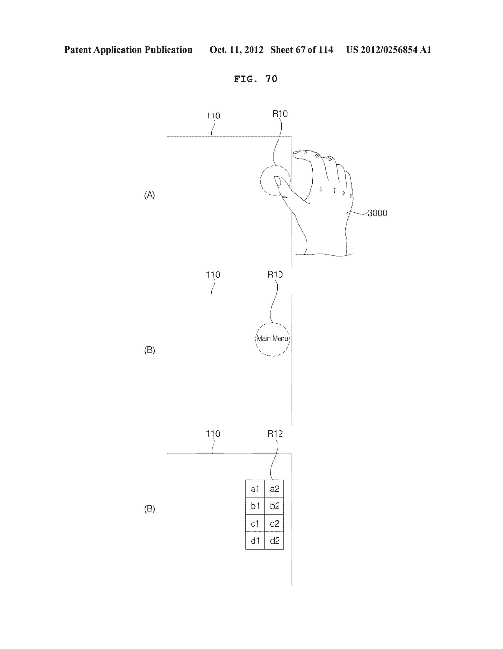 TRANSPARENT DISPLAY APPARATUS AND METHOD FOR OPERATING THE SAME - diagram, schematic, and image 68