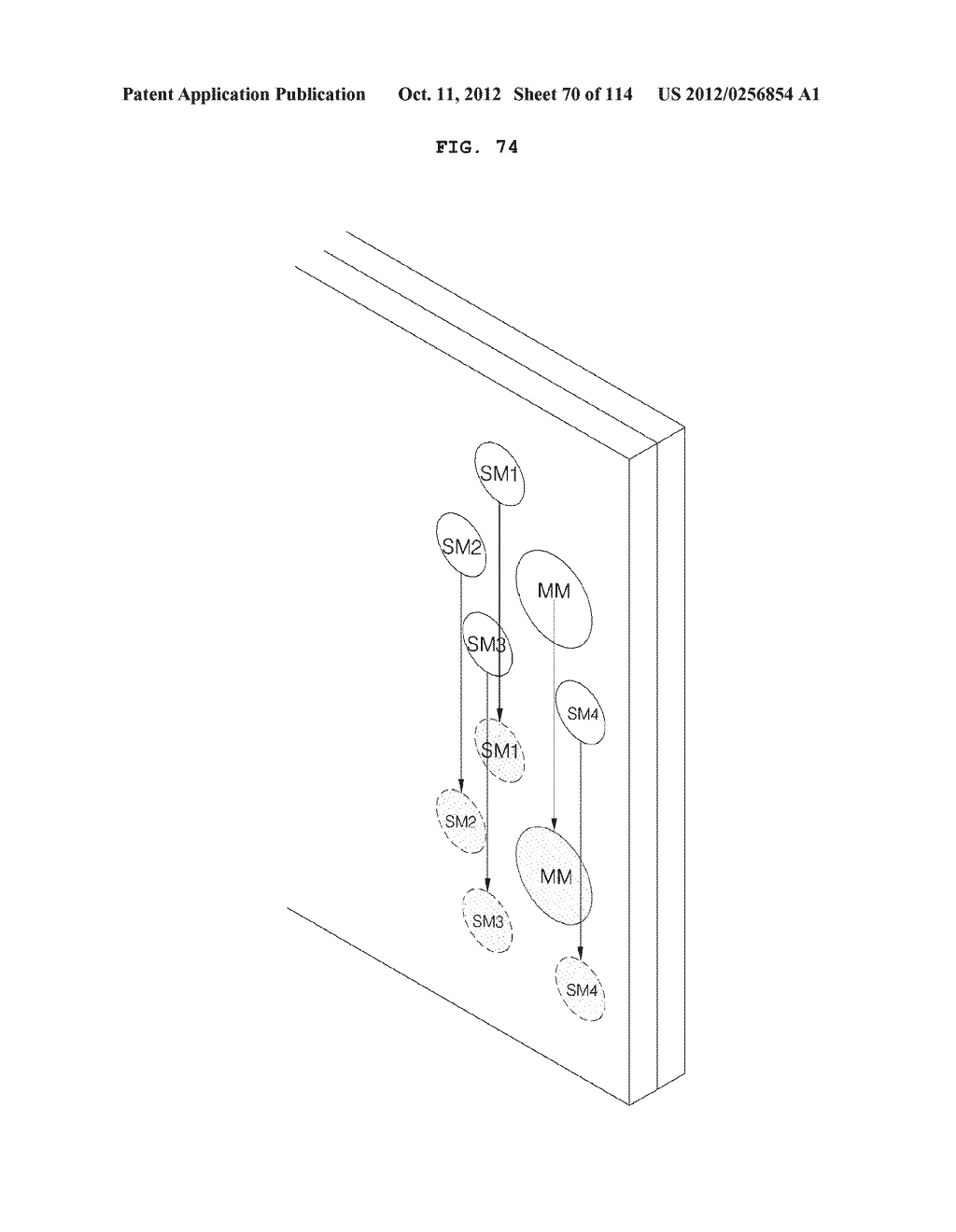 TRANSPARENT DISPLAY APPARATUS AND METHOD FOR OPERATING THE SAME - diagram, schematic, and image 71