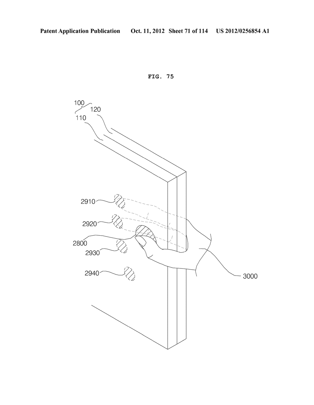 TRANSPARENT DISPLAY APPARATUS AND METHOD FOR OPERATING THE SAME - diagram, schematic, and image 72