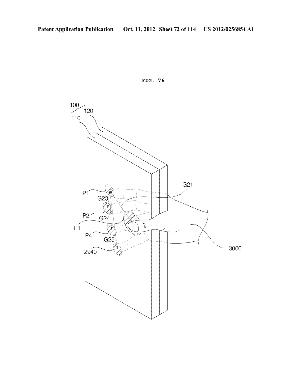 TRANSPARENT DISPLAY APPARATUS AND METHOD FOR OPERATING THE SAME - diagram, schematic, and image 73