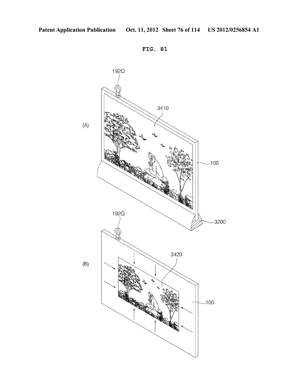 TRANSPARENT DISPLAY APPARATUS AND METHOD FOR OPERATING THE SAME - diagram, schematic, and image 77