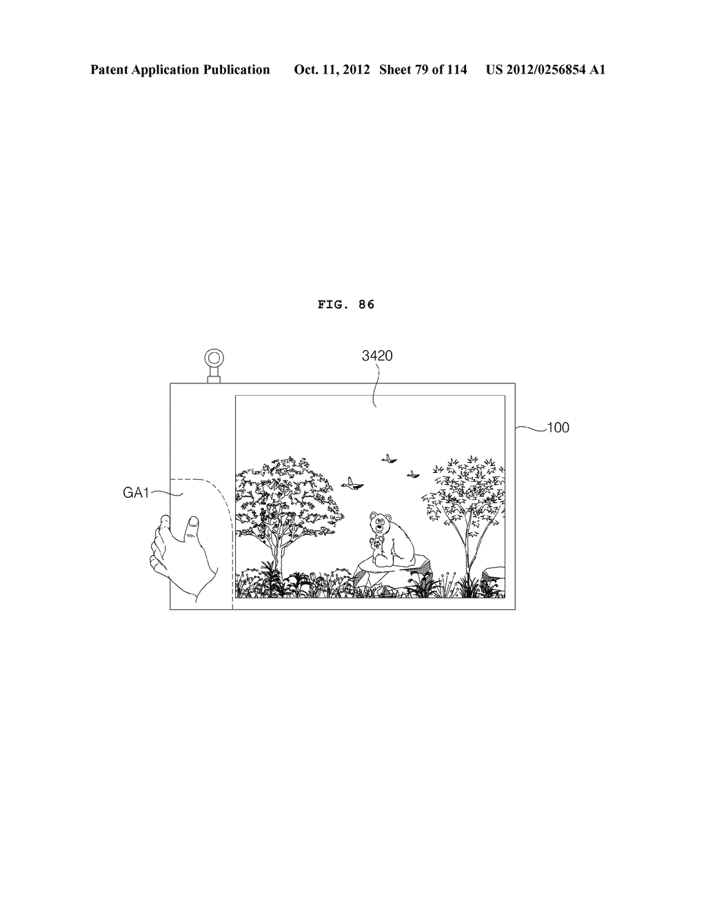 TRANSPARENT DISPLAY APPARATUS AND METHOD FOR OPERATING THE SAME - diagram, schematic, and image 80