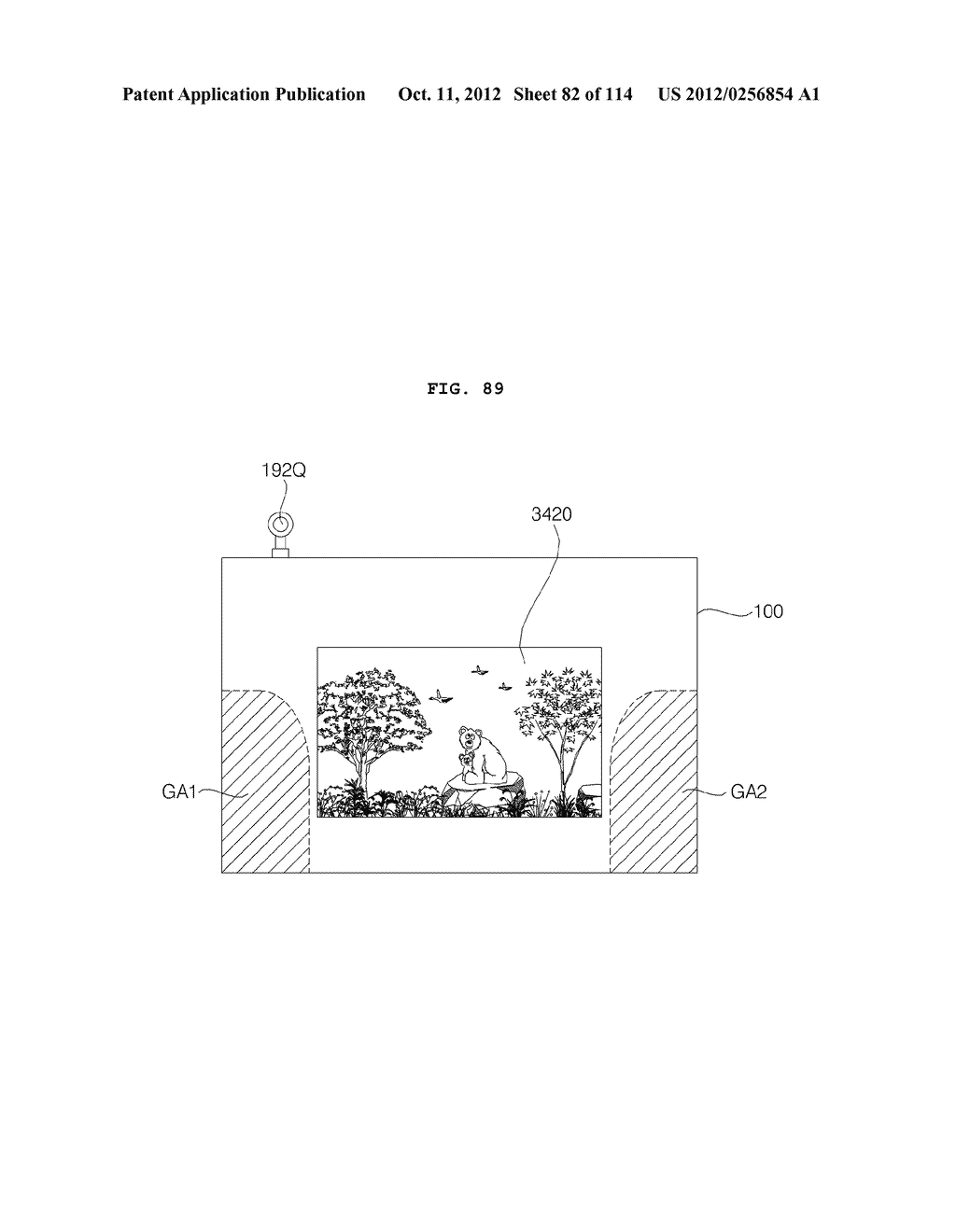 TRANSPARENT DISPLAY APPARATUS AND METHOD FOR OPERATING THE SAME - diagram, schematic, and image 83