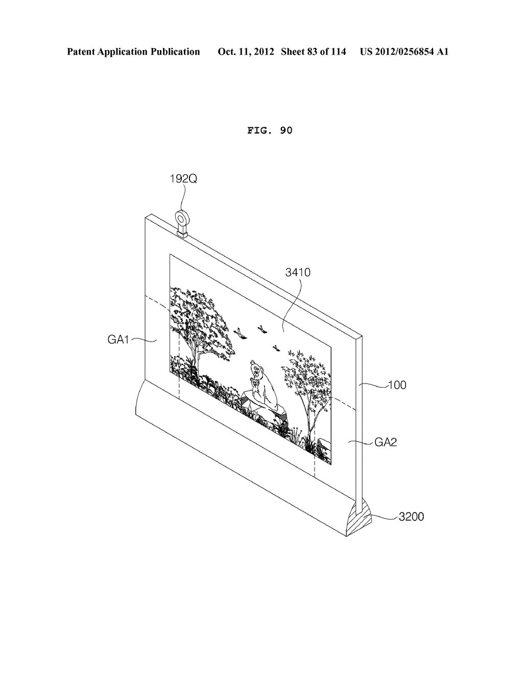 TRANSPARENT DISPLAY APPARATUS AND METHOD FOR OPERATING THE SAME - diagram, schematic, and image 84