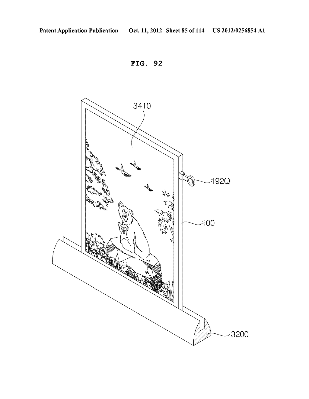 TRANSPARENT DISPLAY APPARATUS AND METHOD FOR OPERATING THE SAME - diagram, schematic, and image 86