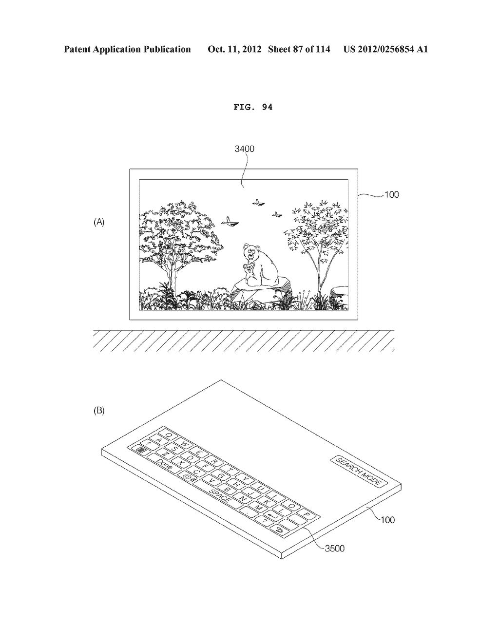 TRANSPARENT DISPLAY APPARATUS AND METHOD FOR OPERATING THE SAME - diagram, schematic, and image 88