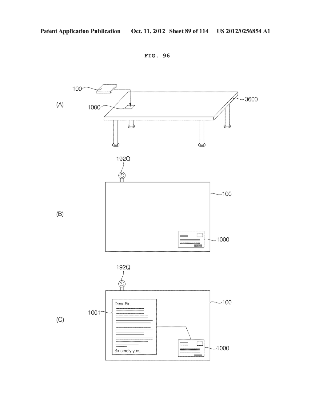 TRANSPARENT DISPLAY APPARATUS AND METHOD FOR OPERATING THE SAME - diagram, schematic, and image 90
