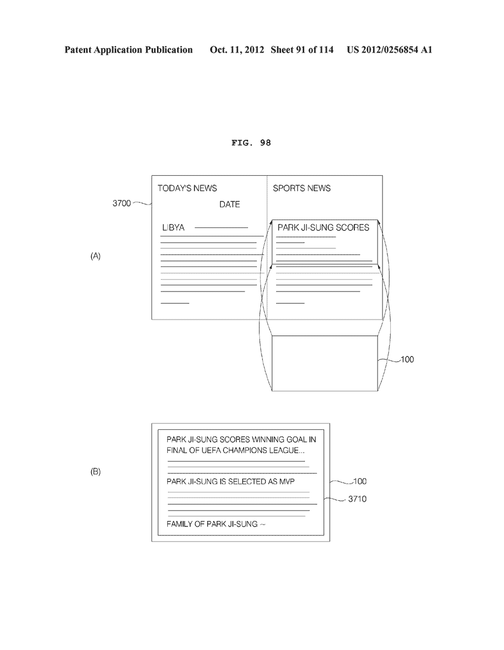 TRANSPARENT DISPLAY APPARATUS AND METHOD FOR OPERATING THE SAME - diagram, schematic, and image 92