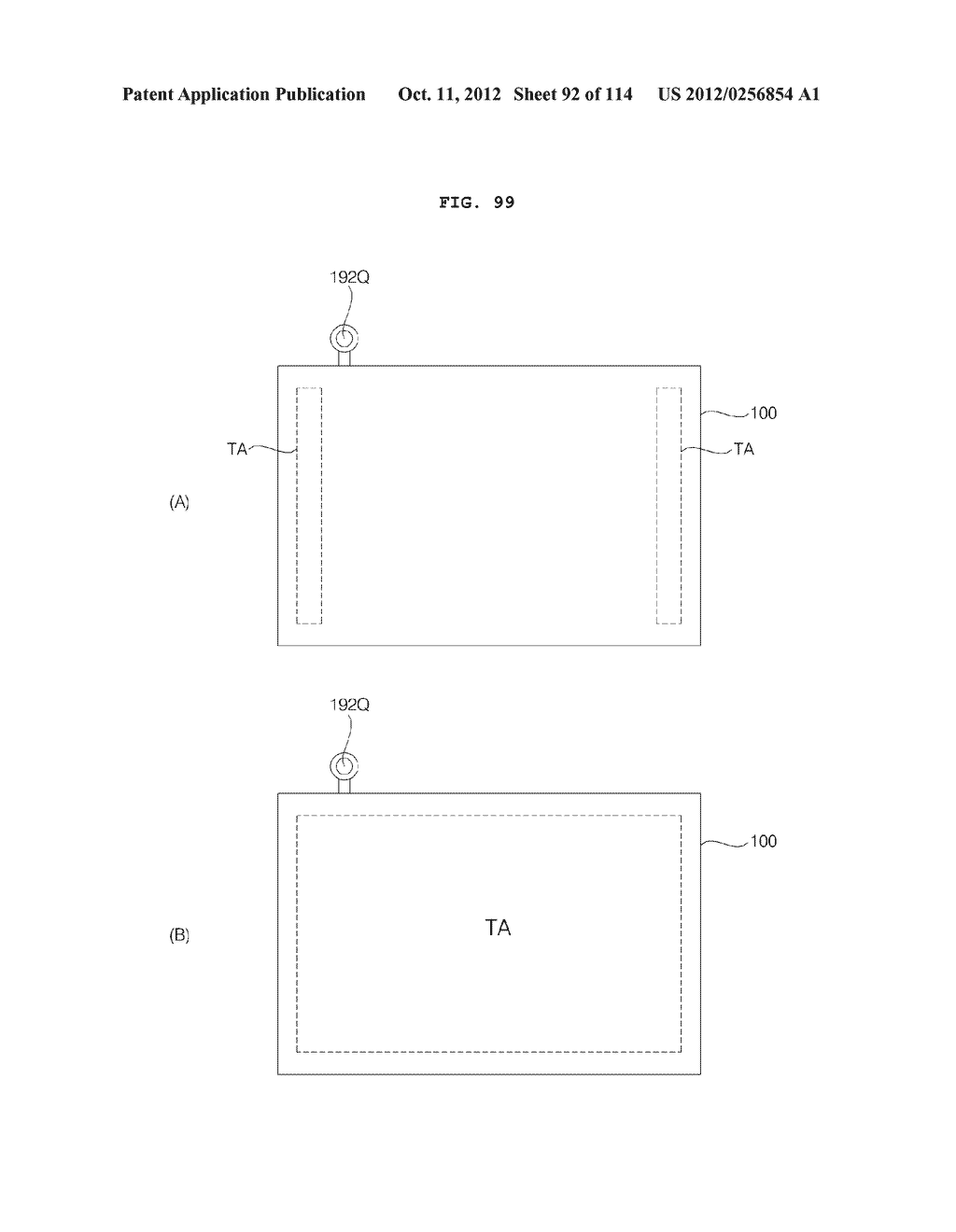 TRANSPARENT DISPLAY APPARATUS AND METHOD FOR OPERATING THE SAME - diagram, schematic, and image 93