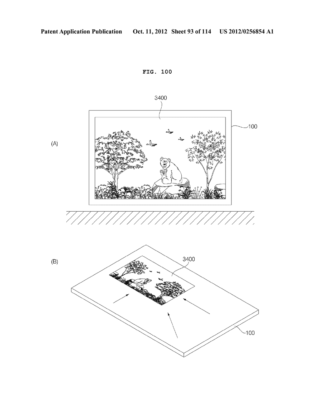 TRANSPARENT DISPLAY APPARATUS AND METHOD FOR OPERATING THE SAME - diagram, schematic, and image 94