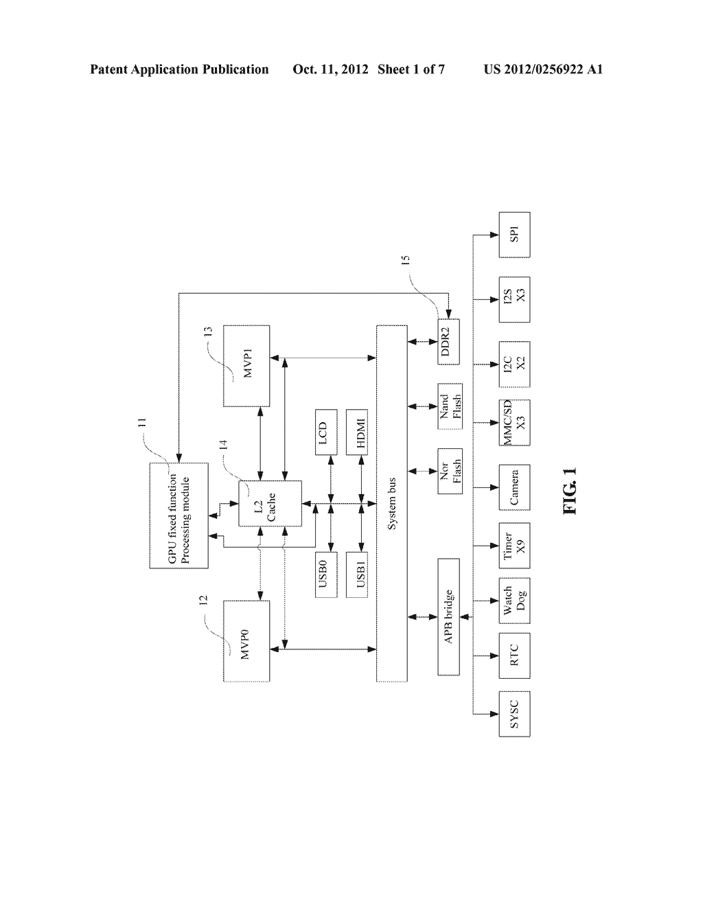 Multithreaded Processor and Method for Realizing Functions of Central     Processing Unit and Graphics Processing Unit - diagram, schematic, and image 02