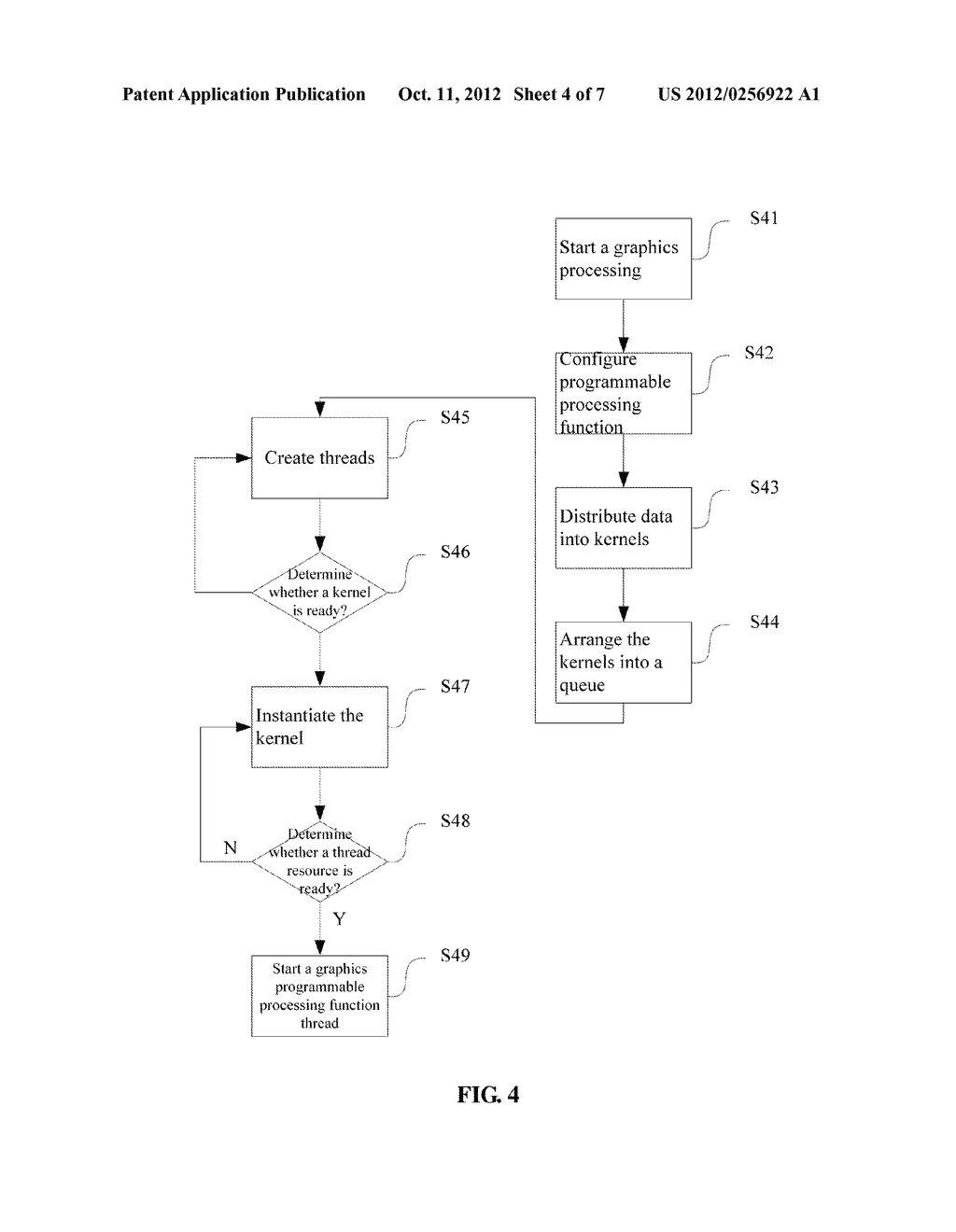 Multithreaded Processor and Method for Realizing Functions of Central     Processing Unit and Graphics Processing Unit - diagram, schematic, and image 05