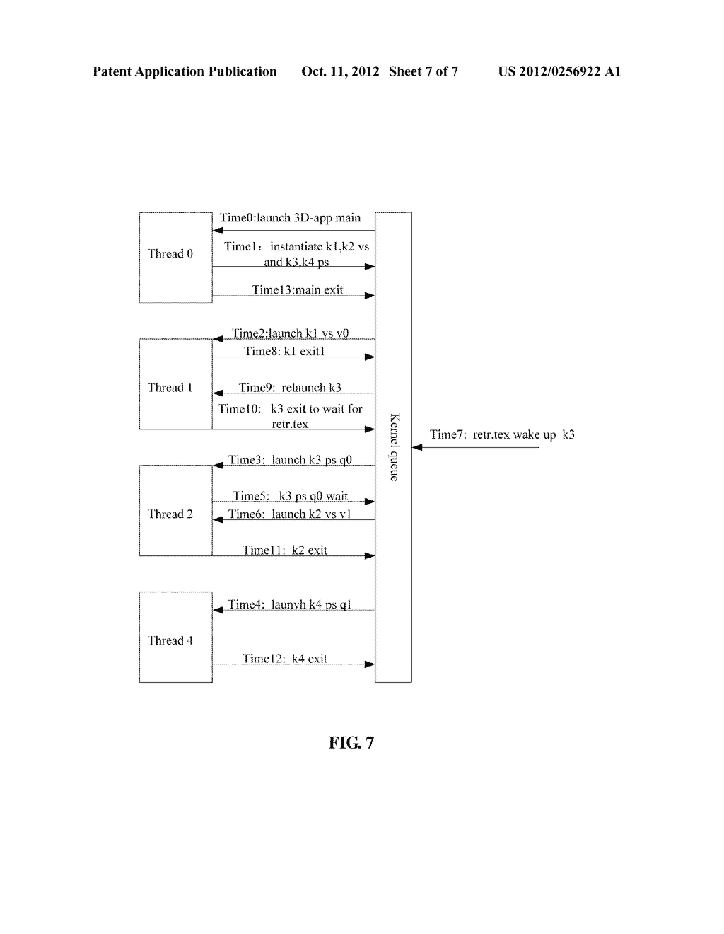 Multithreaded Processor and Method for Realizing Functions of Central     Processing Unit and Graphics Processing Unit - diagram, schematic, and image 08