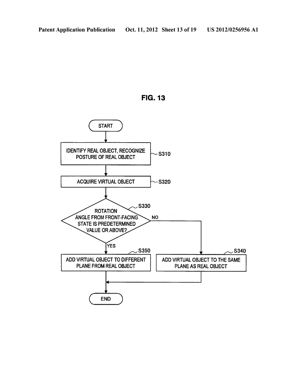 DISPLAY CONTROL DEVICE, DISPLAY CONTROL METHOD, AND PROGRAM - diagram, schematic, and image 14